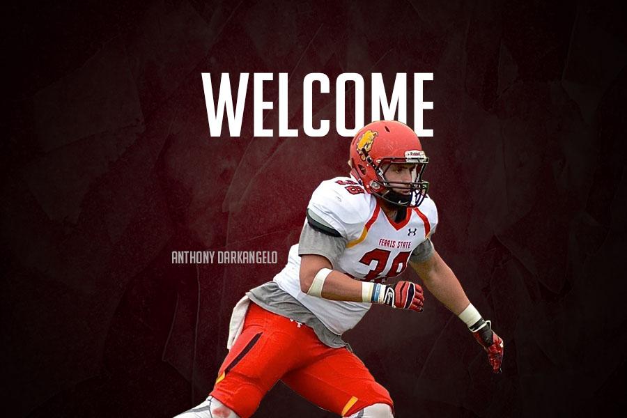 Ferris State Bulldogs Linebacker Anthony Darkangelo Ii Wird Ein Löwe